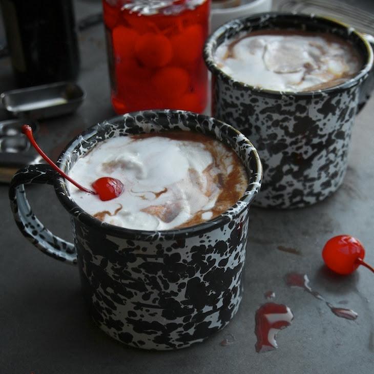 Cherry Vanilla Hot Chocolate Recipe