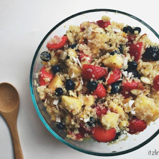 Honey Ginger Quinoa Fruit Salad