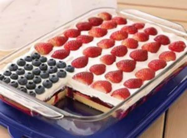 Wave Your Flag Cheesecake Recipe