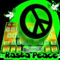 Rasta Peace Reggae Keyboard icon