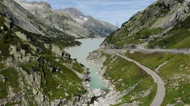 Photo: A tó egy emelettel feljebbről /Ratterischbodensee/