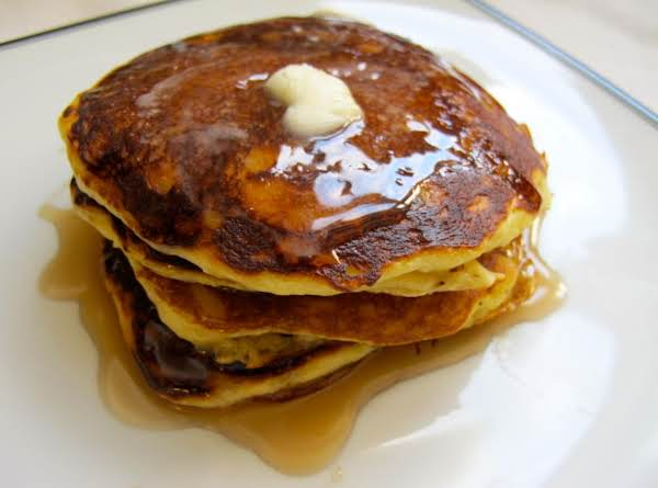 Melt In Your Mouth Orange-yogurt Pancakes