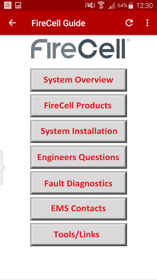 EMS FIRECELL GUIDE- screenshot