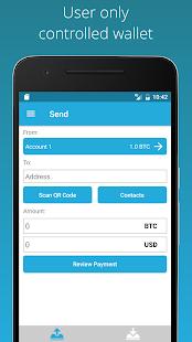 Bitcoin Wallet - ArcBit - náhled