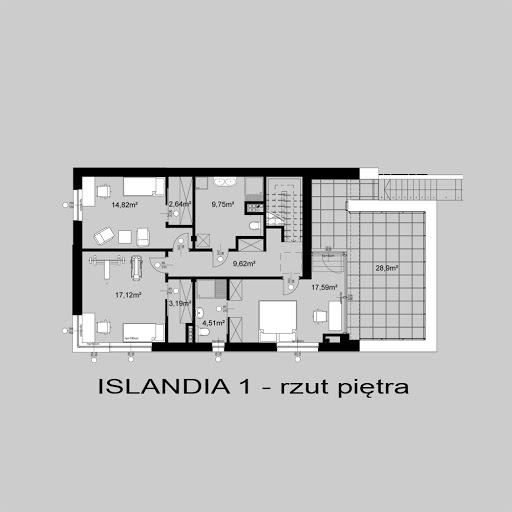 Islandia 1 - Rzut piętra