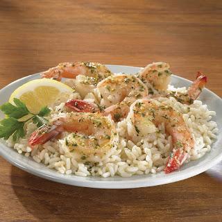 Parmesan Herb Shrimp.