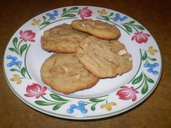 Toffee Apple Peanut Butter Cookies
