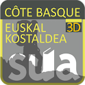 Côte Basque 3D icon