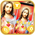 God Jesus Christian Launcher Theme 🌺 icon