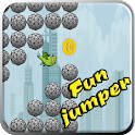 Fun jumper icon