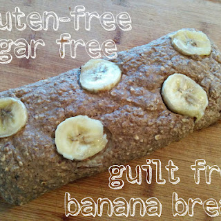 Skinny Gluten Free Banana Bread (sugar Free, Vegan, Clean Eats)