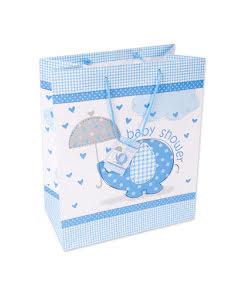 Babyshower kasse, blå