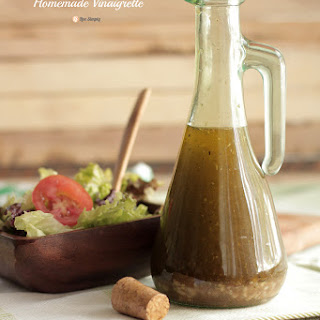 Homemade Vinaigrette.
