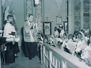 Photo: May Procession_Fr Miller_St Cyprian Parish