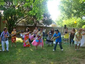 Photo: learning how to dance hula