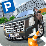 Luxury Car Parking Icon