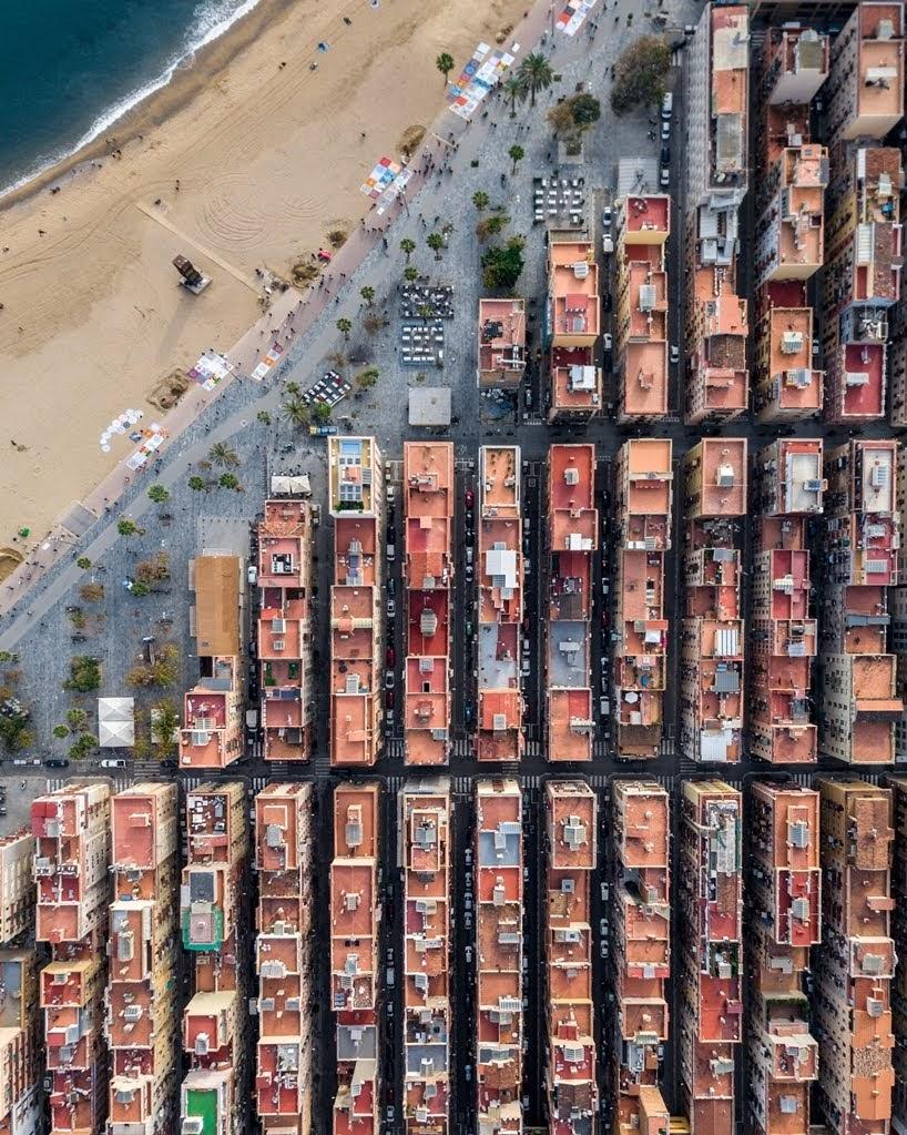 Barcelona desde arriba
