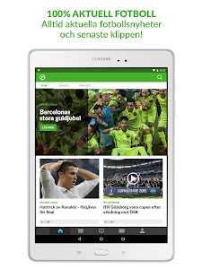 Fotbollskanalen screenshot 6