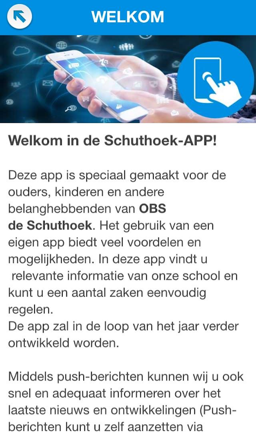 OBS de Schuthoek: screenshot