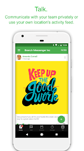 Branch Messenger - Work schedule & team app - náhled