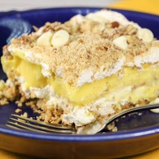 Vanilla Dessert Lasagna.