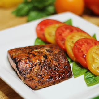 Spice Rubbed Salmon Fillet.