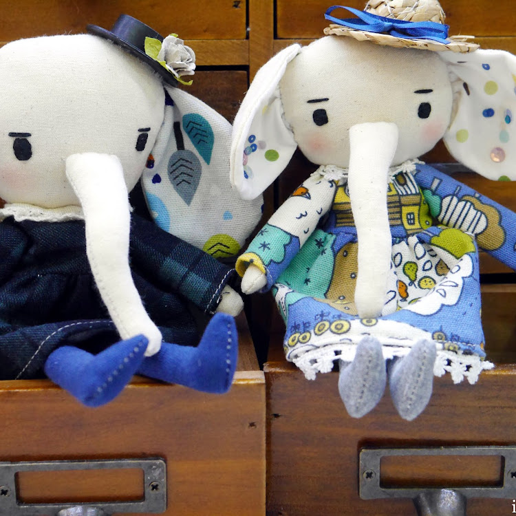 Handmade Cute Elly with Western-style hat