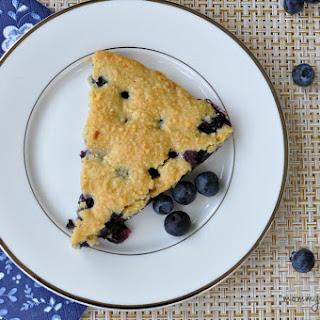 Paleo Blueberry Scones.
