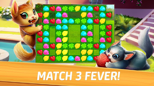 Meow Match: Cats Matching 3 Puzzle & Ball Blast apkpoly screenshots 14
