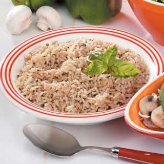 Seasoned Brown Rice.
