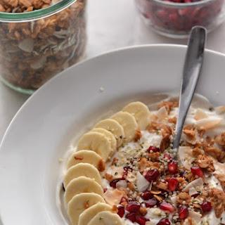 Pomegranate Yogurt Bowls.