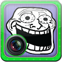 Troll Face Meme Photo Editor icon