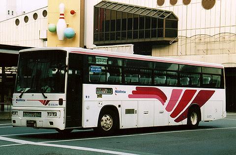 西鉄「ぎんなん号」 3326