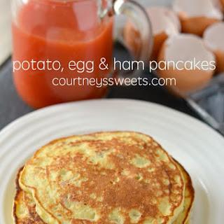 Potato, Egg and Ham Pancakes