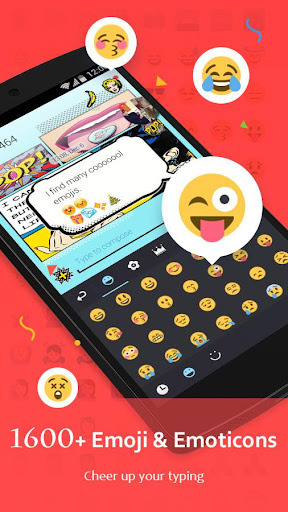 GO Keyboard - Cute Emojis, Themes and GIFs 3.39 screenshots 2