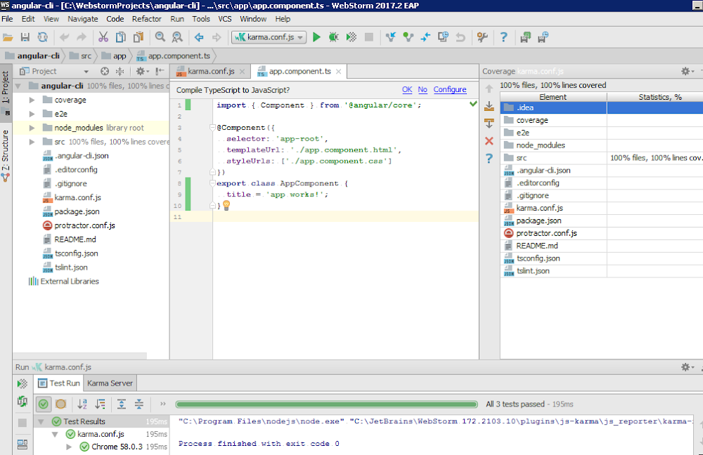 Phần mềm code web JetBrains WebStorm