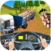 Real Off-Road Euro Cargo Transport Truck Simulator