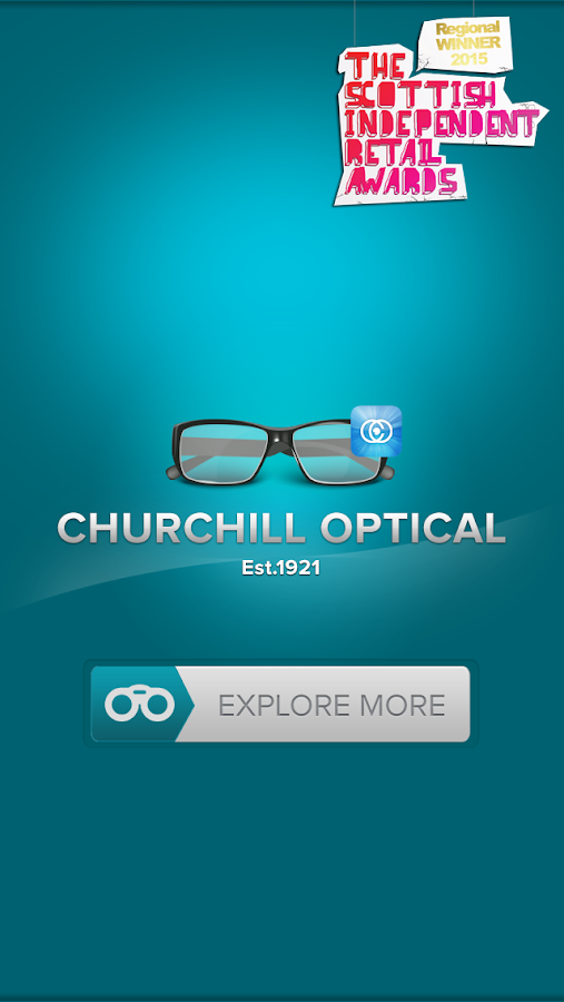 Churchill Optical- screenshot
