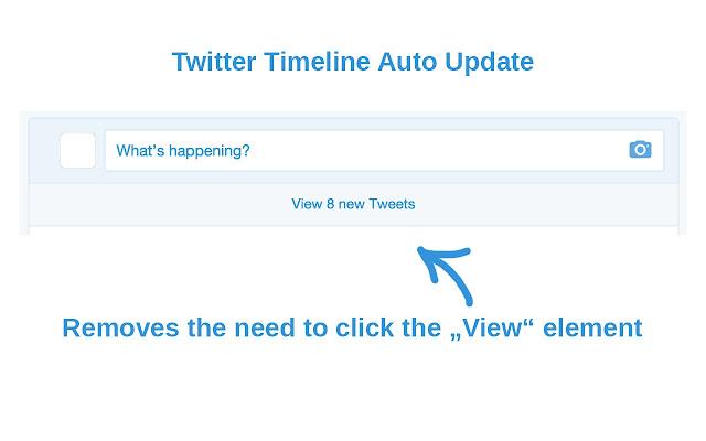 Twitter Timeline Auto Update