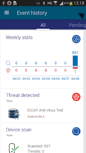 Endpoint Protection - Panda 3.2.5 screenshots 7