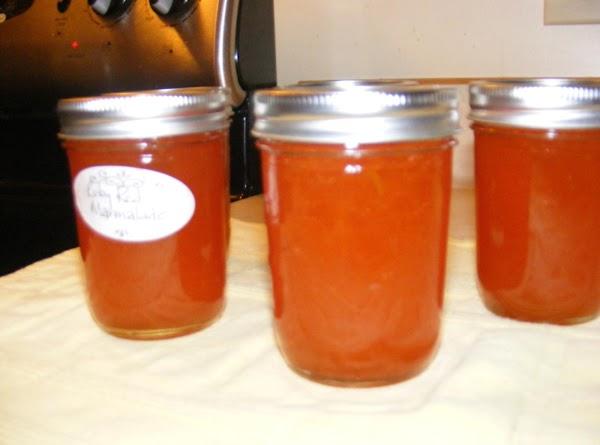 Ruby-red Grapefruit Marmalade Recipe