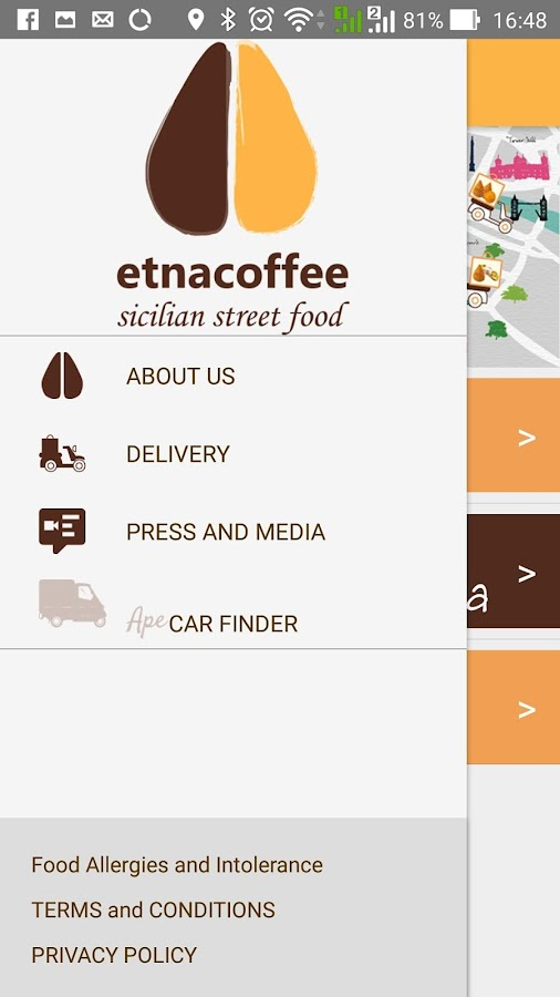 Etnacoffee UK- screenshot