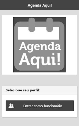 android Agenda Aqui! Profissional Screenshot 0