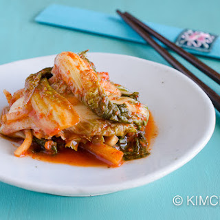 Vegan Cabbage Kimchi with Apples and Ginger Recipe