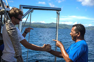 Photo: SAMAMBAIA LIVEABOARD PROFESSIONAL AND FRIENDLY CREW http://cruisingindonesia.com/liveaboards/samambaia-liveaboard-scuba-diving-indonesia ~ www.CruisingIndonesia.com ~ info@cruisingindonesia.com ~ #liveaboard #scubadiving #diving