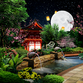 Eastern Garden Live Wallpaper