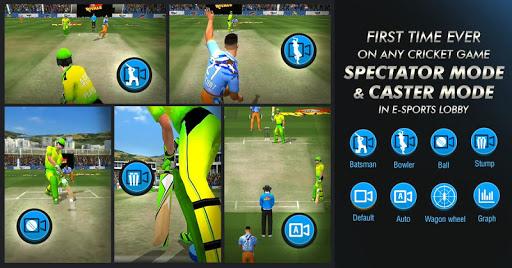 Code Triche WCC Rivals - Realtime Cricket Multiplayer APK MOD screenshots 2