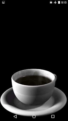 Hot Coffee Live Wallpaper