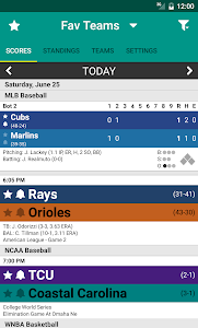 Sports Scores screenshot 0