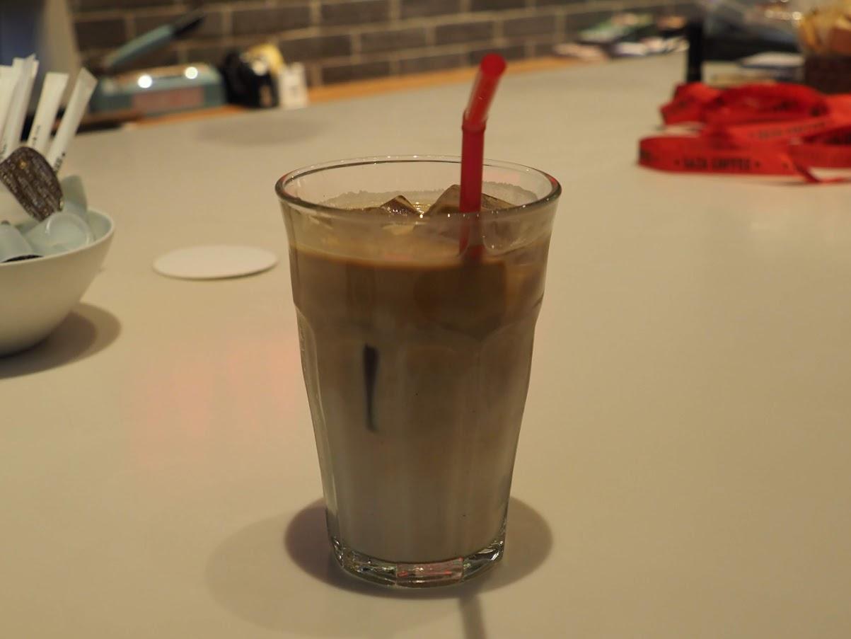 サザコーヒーのカフェラテ